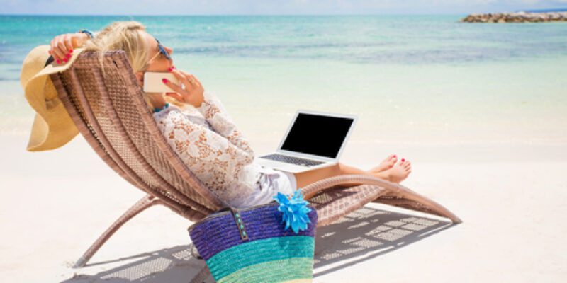 Online Business Leader: Work Remotely with a Laptop and Phone!